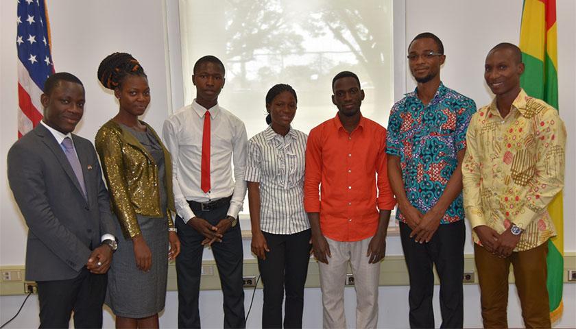 Stage à l'Ambassade des Etats-Unis au Togo