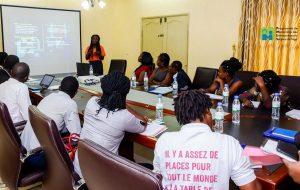 Séance d'information au lancement de la phase 2 du programme de mentorship